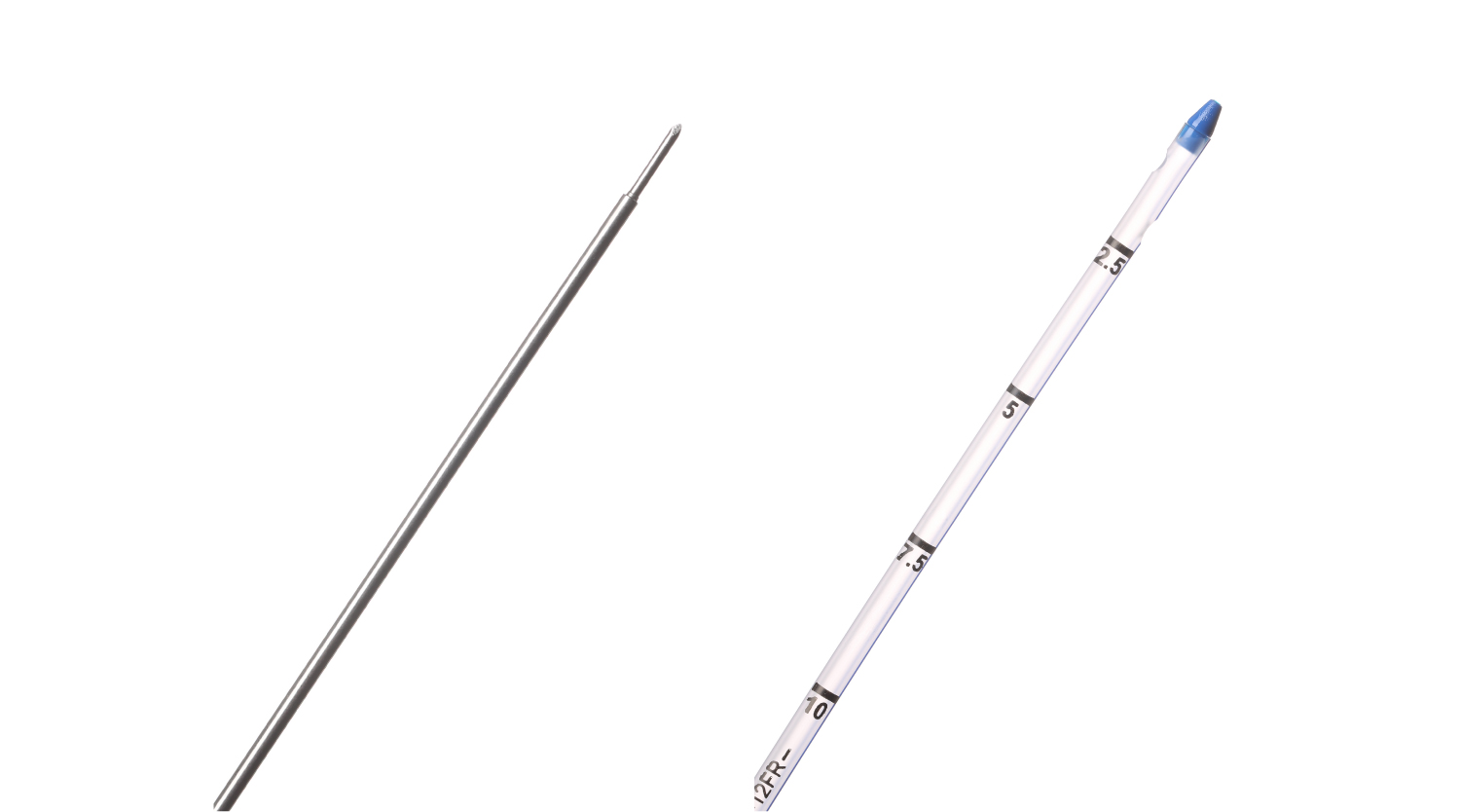 THORACIC CATHETER - W/ TROCAR, STANDARD TIP